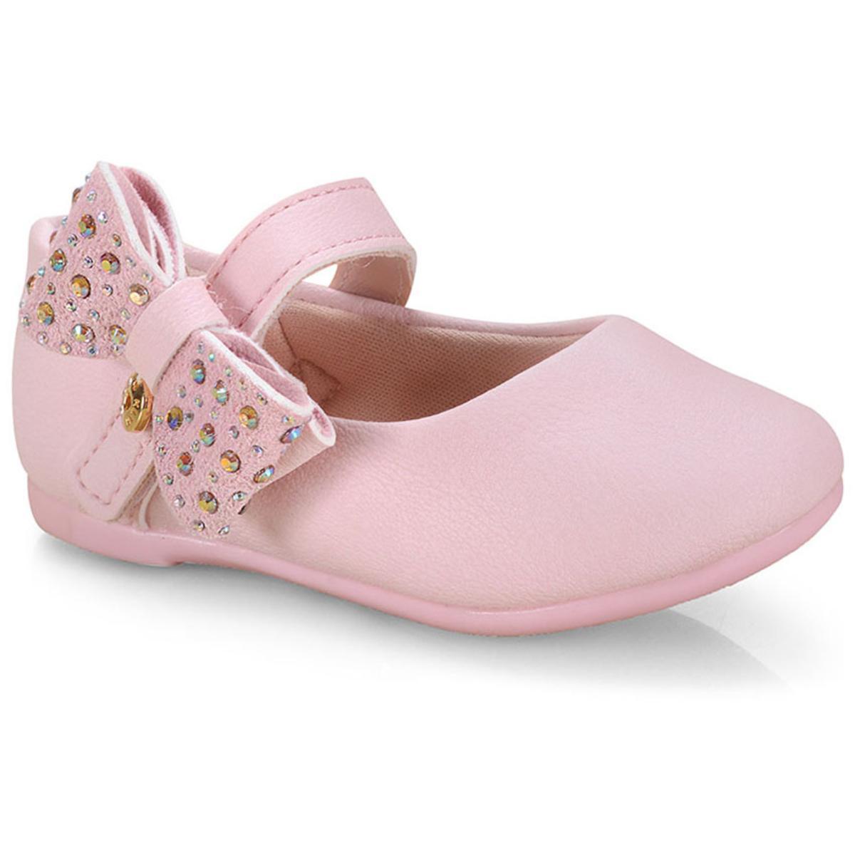 Sapatilha Fem Infantil Klin 152.112 Rosa