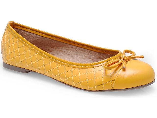Sapatilha Feminina Lana 1009 Amarelo