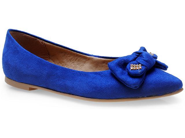 Sapatilha Feminina Lana 4051 Azul Bic