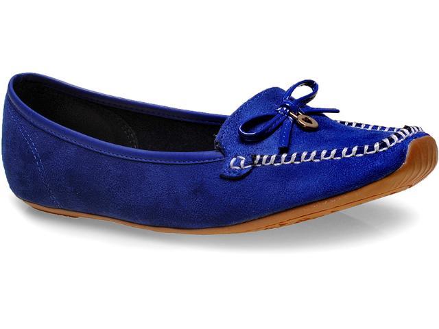 Sapato Feminino Moleca 5252105 Azul