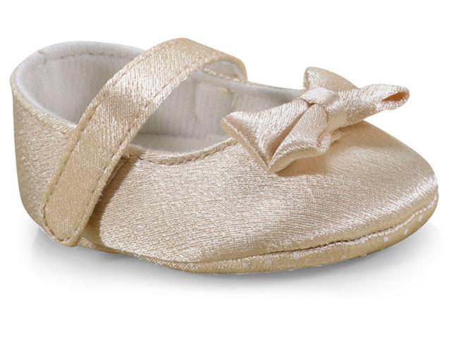 Sapatilha Fem Infantil Pimpolho 73588c Kitc/tiara  Dourado