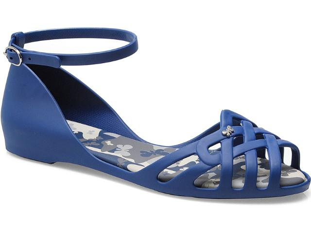 Sapatilha Feminina Grendene 16576 Zaxy Power ad Azul/cinza