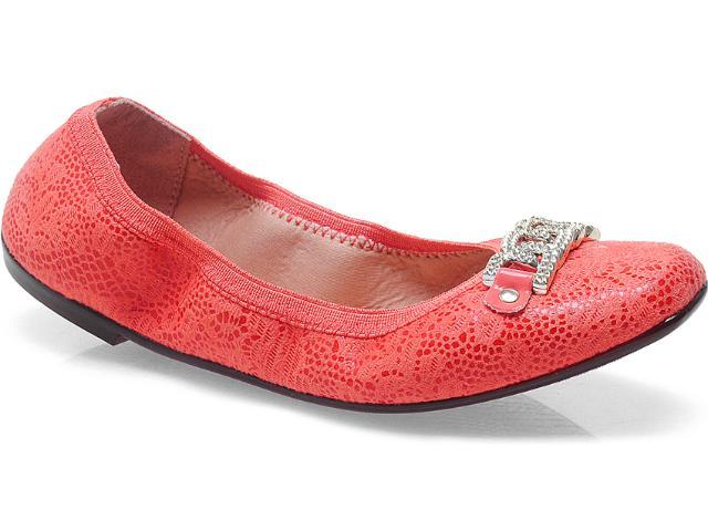 Sapatilha Feminina Moleca 5105717 Coral