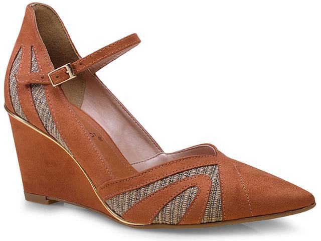 Sapato Feminino Bebêcê7040144 Castanho