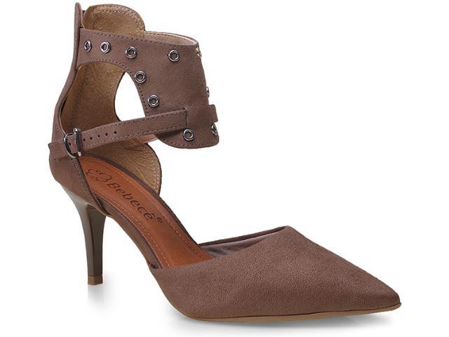 Sapato Feminino Bebêcê7010110 Taupe