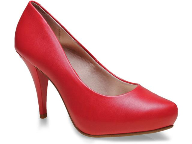 Sapato Feminino Beira Rio 4080250 Vermelho
