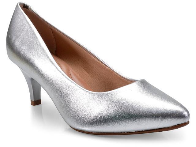 Sapato Feminino Beira Rio 4076350 Prata