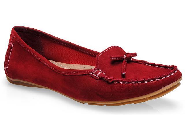 Sapato Feminino Bottero 208202 Rouge