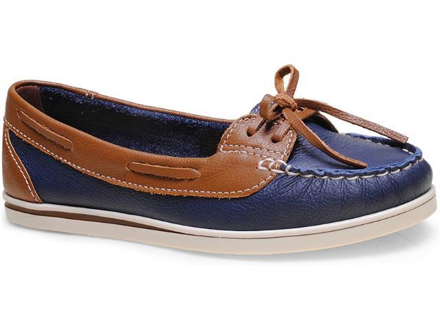 Sapato Feminino Bottero 226801 Marinho/canela