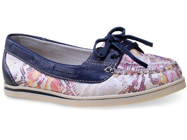 Sapato Feminino Bottero 236601 Uva/marinho