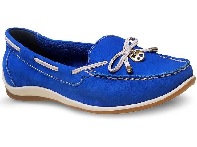 Sapato Feminino Bottero 239801 Azul Royal/off White