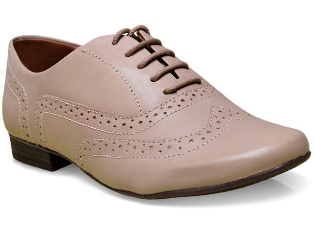 Sapato Feminino Bottero 242501 Amendoa