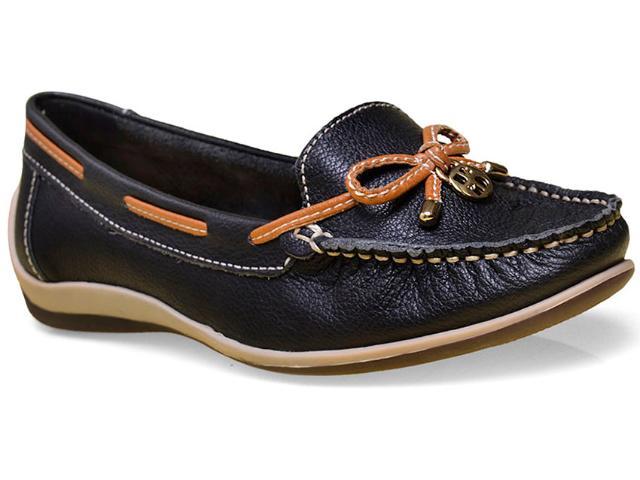 Sapato Feminino Bottero 250001 Preto/caramelo