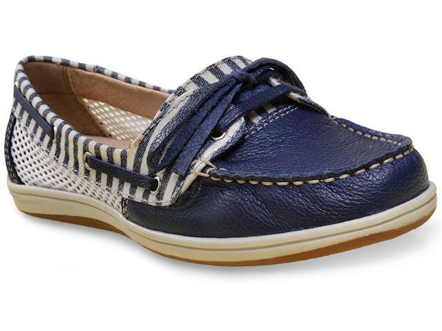 Sapato Feminino Bottero 256801 Marinho/branco