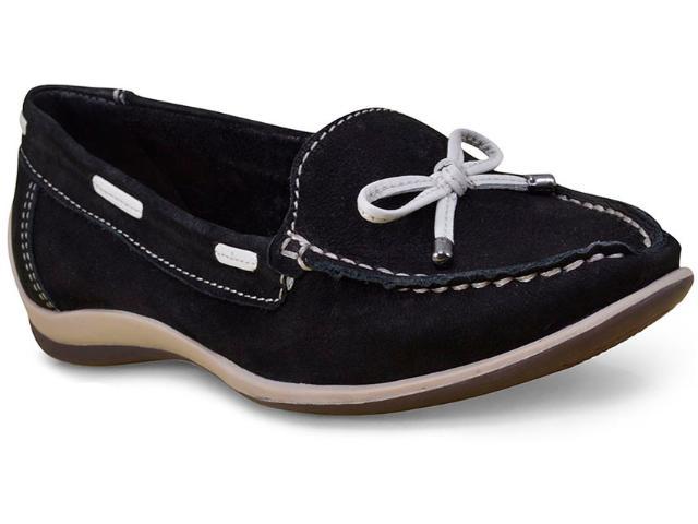 Sapato Feminino Bottero 268801 Preto/off White