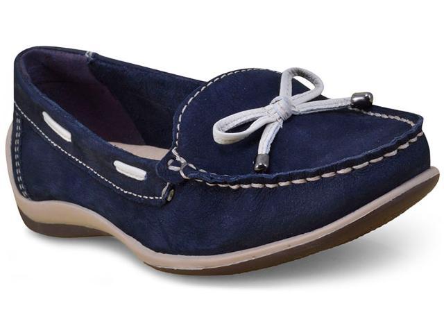 Sapato Feminino Bottero 268801 Marinho/off White