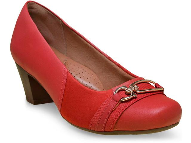 Sapato Feminino Campesi 5371 Vermelho