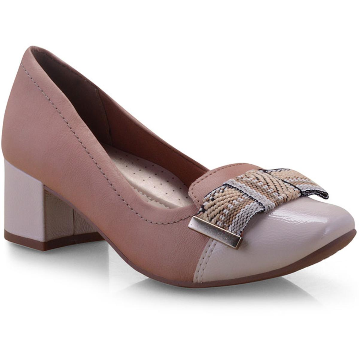 Sapato Feminino Campesi L6541 Aveia