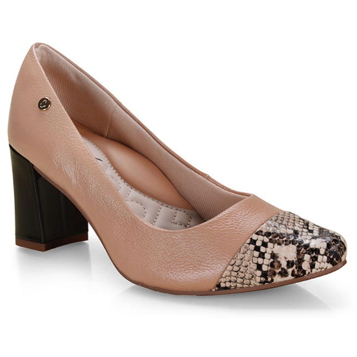 Sapato Feminino Campesi L6793 Capuccino