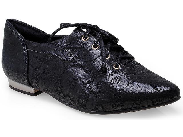 Sapato Feminino Comfortflex 14-54305 Preto