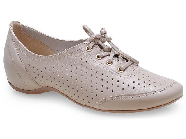 Sapato Feminino Comfortflex 14-94405 Palha