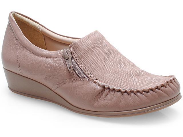 Sapato Feminino Comfortflex 14-93405 Amendoa