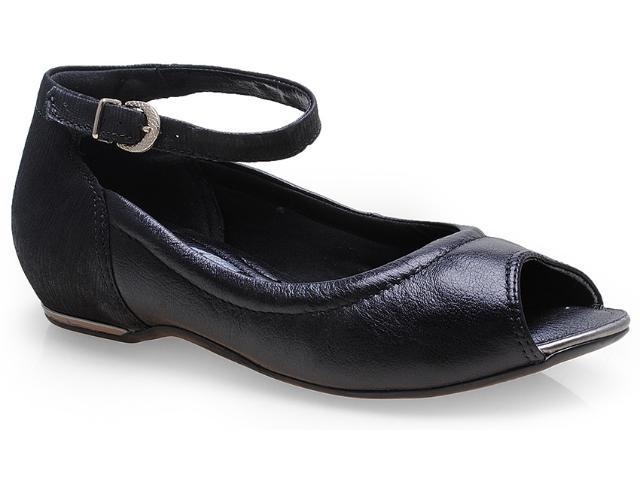 Sapato Feminino Comfortflex 14-76405 Preto