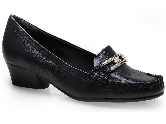 Sapato Feminino Comfortflex 14-66405 Preto