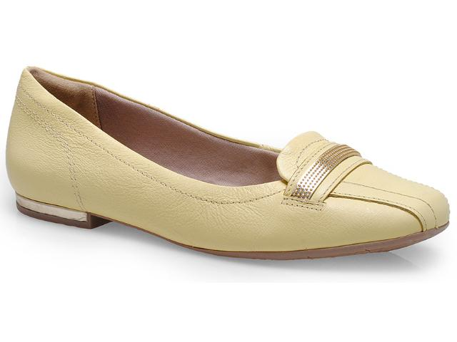 Sapato Feminino Comfortflex 14-63405 Amarelo