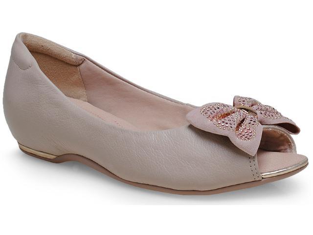 Sapato Feminino Comfortflex 14-76404 Palha