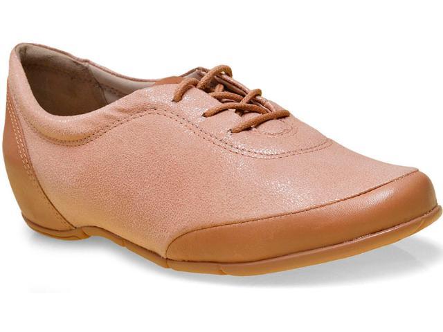 Sapato Feminino Comfortflex 16-94335 Caramelo