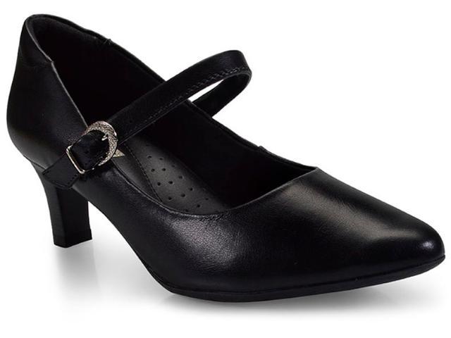 Sapato Feminino Comfortflex 17-81403 Preto