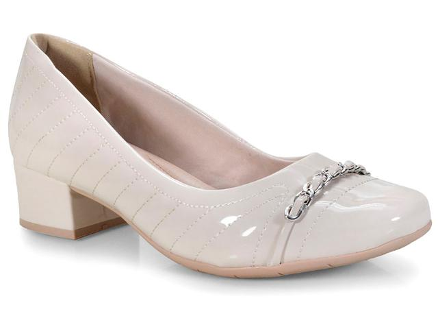 Sapato Feminino Comfortflex 18-95302 Off White