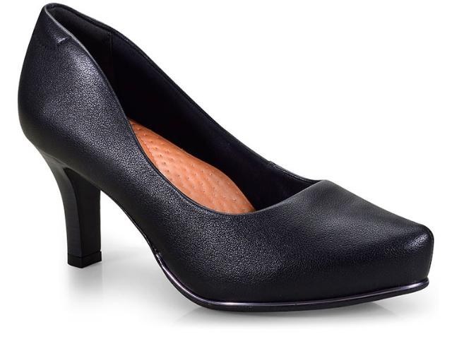 Sapato Feminino Comfortflex 18-85301/1 Preto
