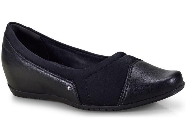 Sapato Feminino Comfortflex 18-94305 Preto