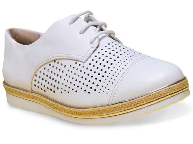 Sapato Feminino Comfortflex 17-64301 Branco