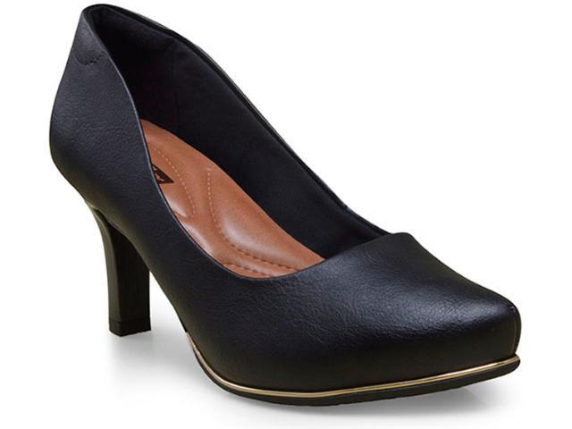 Sapato Feminino Comfortflex 16-85401/1 Preto