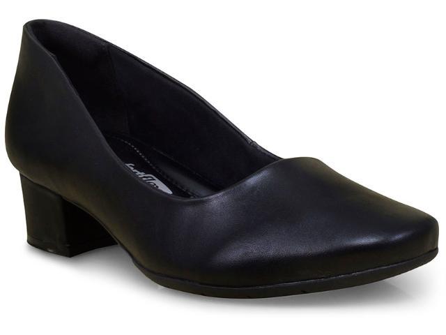 Sapato Feminino Comfortflex 17-95301 Preto