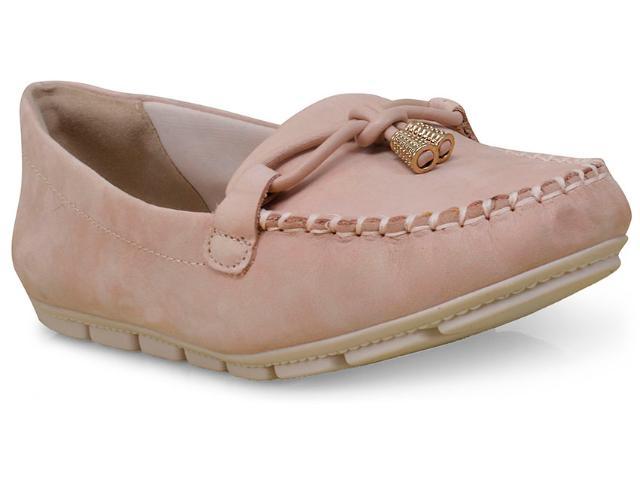 Sapato Feminino Comfortflex 16-73402 Nude
