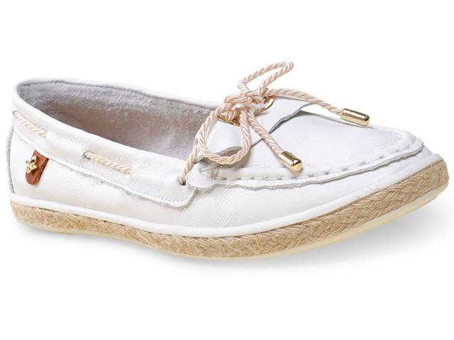 Sapato Feminino Cravo e Canela 142402/1 Branco