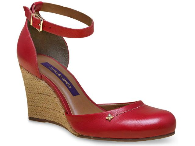 Sapato Feminino Cravo e Canela 144802/2 Maca