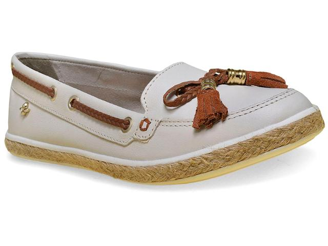Sapato Feminino Cravo e Canela 142411/1 Off White