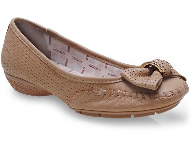 Sapato Feminino d Moon 1312 Argila