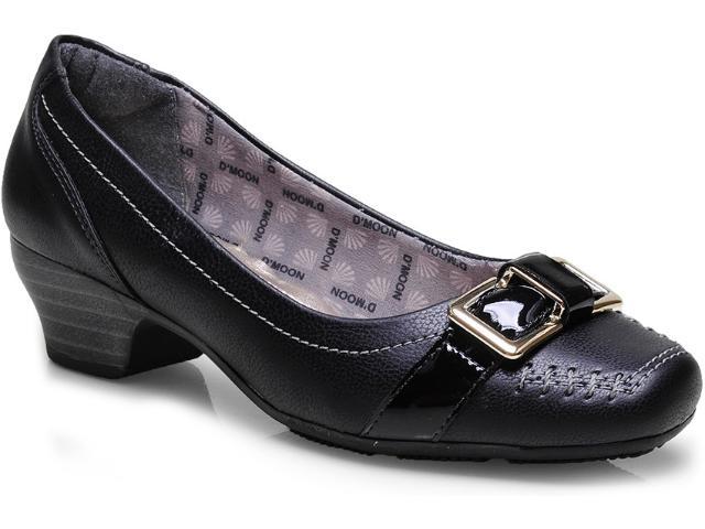 Sapato Feminino d Moon 2438 Preto