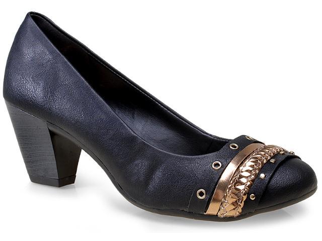 Sapato Feminino Dakota 7483 Preto