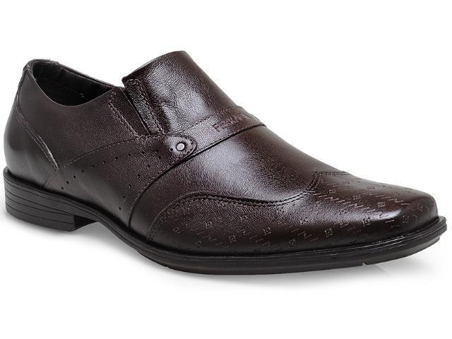 Sapato Masculino Ferracini 6242 m2 Café Claro