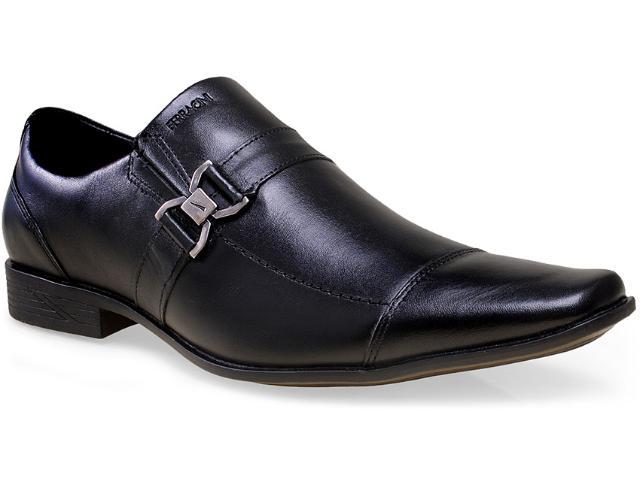 Sapato Masculino Ferracini 3648 Capri Preto