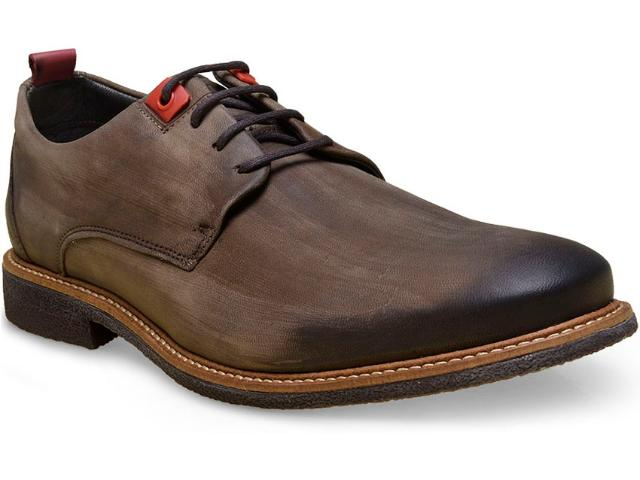 Sapato Masculino Ferracini 5365-1291n Rust Taupe