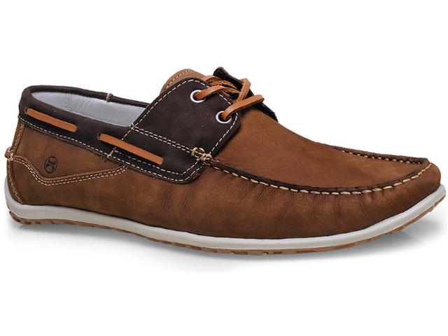 Sapato Masculino Ferricelli Ag18800 Rato/café