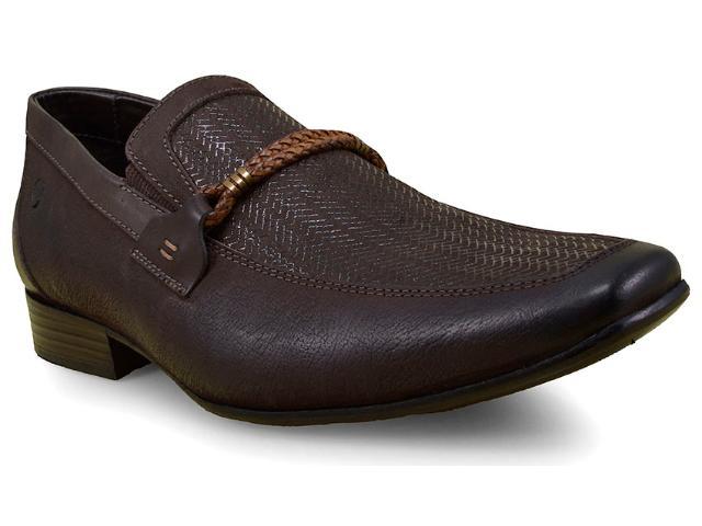 Sapato Masculino Ferricelli Slm50407 Café